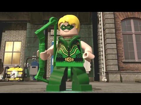 lego dimensions green arrow free roam gameplay. Black Bedroom Furniture Sets. Home Design Ideas