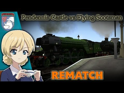 Pendennis Castle Vs Flying Scotsman (REMATCH)   RMV