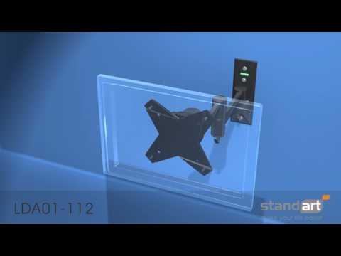 Televizoriaus laikiklio Standart LDA01 112 montavimas