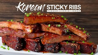 Spicy Garlic STICKY Ribs Sous Vide!