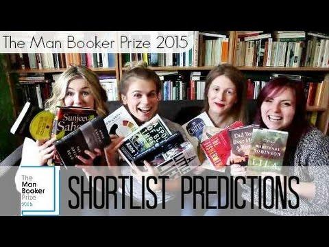 Man Booker Prize 2015 Shortlist Predictions   #ManBookerVloggers