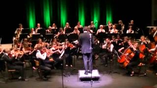 Frysk Jeugd Orkest speelt de Radetzkymars van Strauss op Nieuwjaarsconcert 2 januari 2014