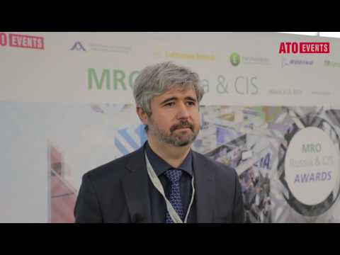 Serguei Vizenkov — Air France Industries KLM Engineering and Maintenance at MRO Russia & CIS – 2017