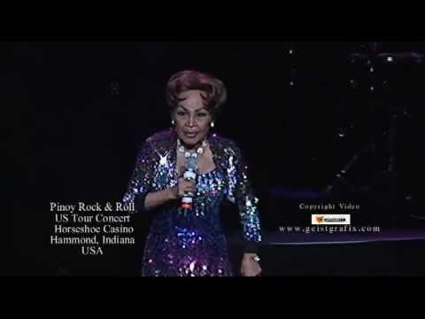Elizabeth Ramsey's 'Pnoy rock and roll' US Tour at Horseshoe Casino, Hammond Indiana USA