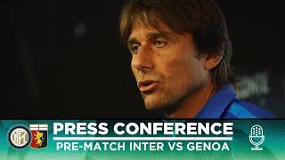 INTER vs GENOA | Antonio Conte Pre-Match Press Conference LIVE 🎙⚫🔵 [SUB ENG]