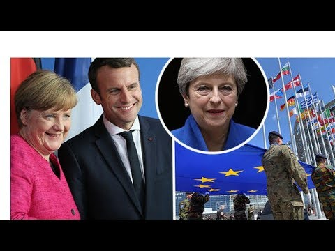 BREAKING 'Now the Brits are gone' Ex-Macron defence advisor predicts Brexit to pave way for EU ARMY