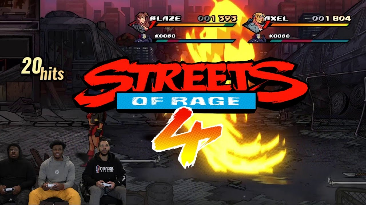 Streets Of HOOUUSSEE! | Streets Of Rage 4 Playthrough