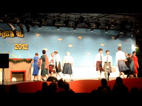 Scottish Country Dances to Christmas music: performance at MSI Chicago Dec8th2012