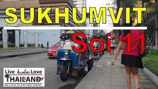 Sukhumvit Soi 11 - Full walk Day time