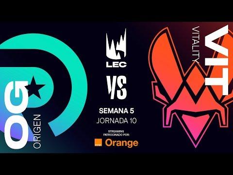 ORIGEN vs VITALITY | LEC | Summer Split [2019] League of Legends