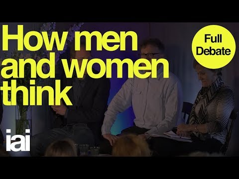 How Men and Women Think - FULL DEBATE