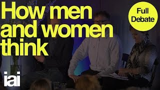 How Men and Women Think | Helena Cronin, Gina Rippon, Simon Baron-Cohen