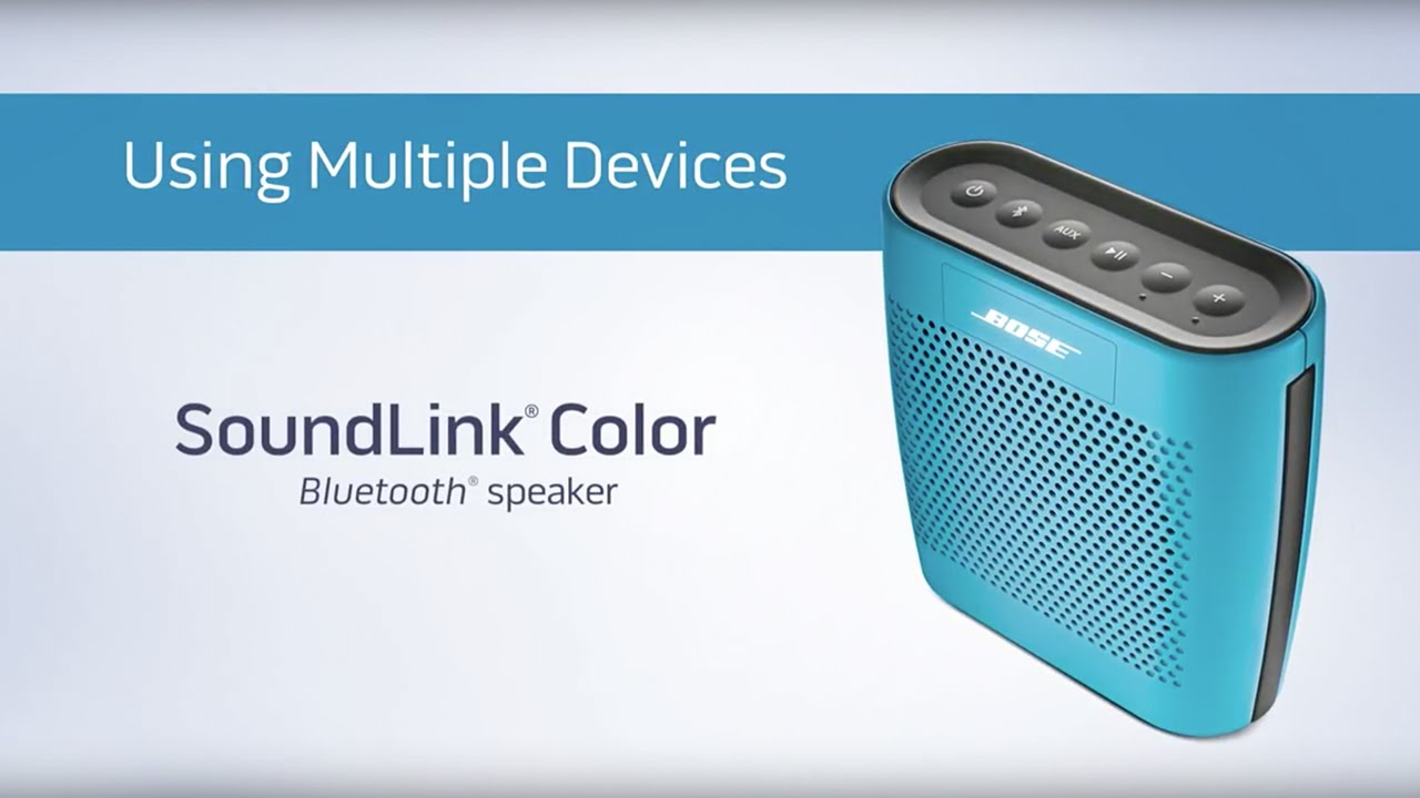Connecting to multiple Bluetooth® devices