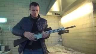 Маскировочная покраска винтовки для снайпера