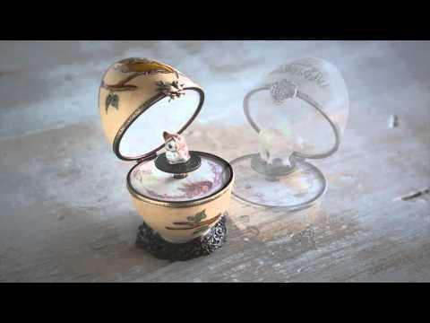 Handpainted Limoges Musical Eggs SKU# 867415 - Magic Cabin Toys