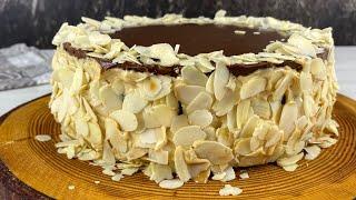 Торт А ля Сникерс без Заморочек Потрясающе Вкусный ТОРТ