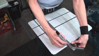 How To Screen Print Tee Shirts: Drawing Your Pallet Lines