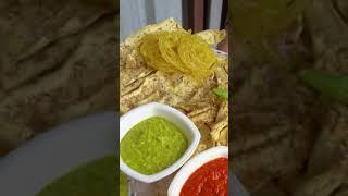 Gujarati Breakfast Kasoori Methi Fafda Rs. 35/- Only #suratfood #shorts