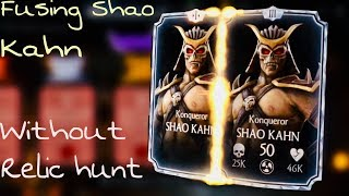 FUSING SHAO KAHN WITHOUT DOING RELIC HUNT / All bosses, test ur mights Relic Hunt Mkx update 1.16