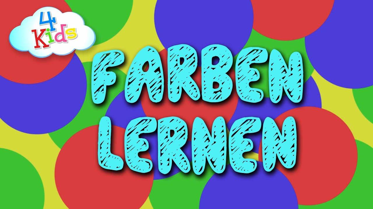 Farben lernen fr Kinder auf Deutsch durch vorsprechen ...