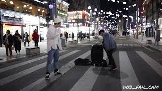 180127 디오비 DOB 성열&효진 신촌공연 / IKON(아이콘) - blingbling(블링블링)
