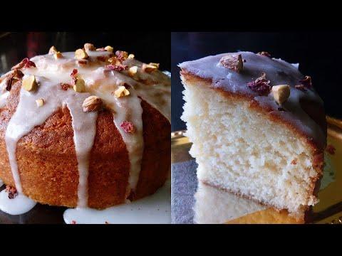 Gulab Jamun Cake recipe | Indian Fusion Cake | without Readymade gulab jamun mix | with eng subs