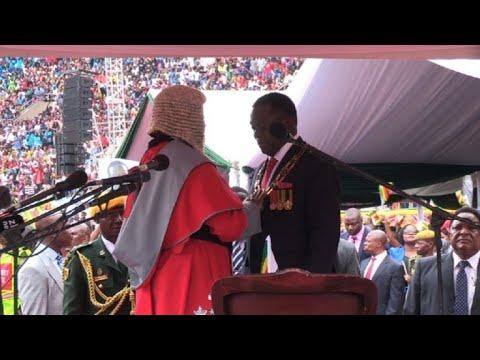 Mnangagwa sworn in as Zimbabwe's new president (3)