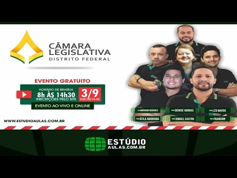 Aulão Ao Vivo – Câmara Legislativa do Distrito Federal