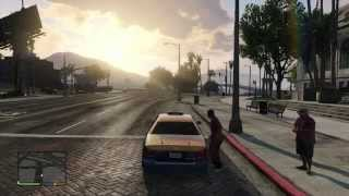 "Grand Theft Auto V - Gameplay Filtrado ""TAXI"" (100% Real) (13/9/2013)"