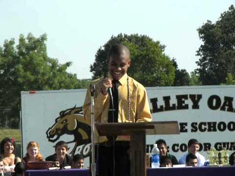 Steven's Graduation Speech