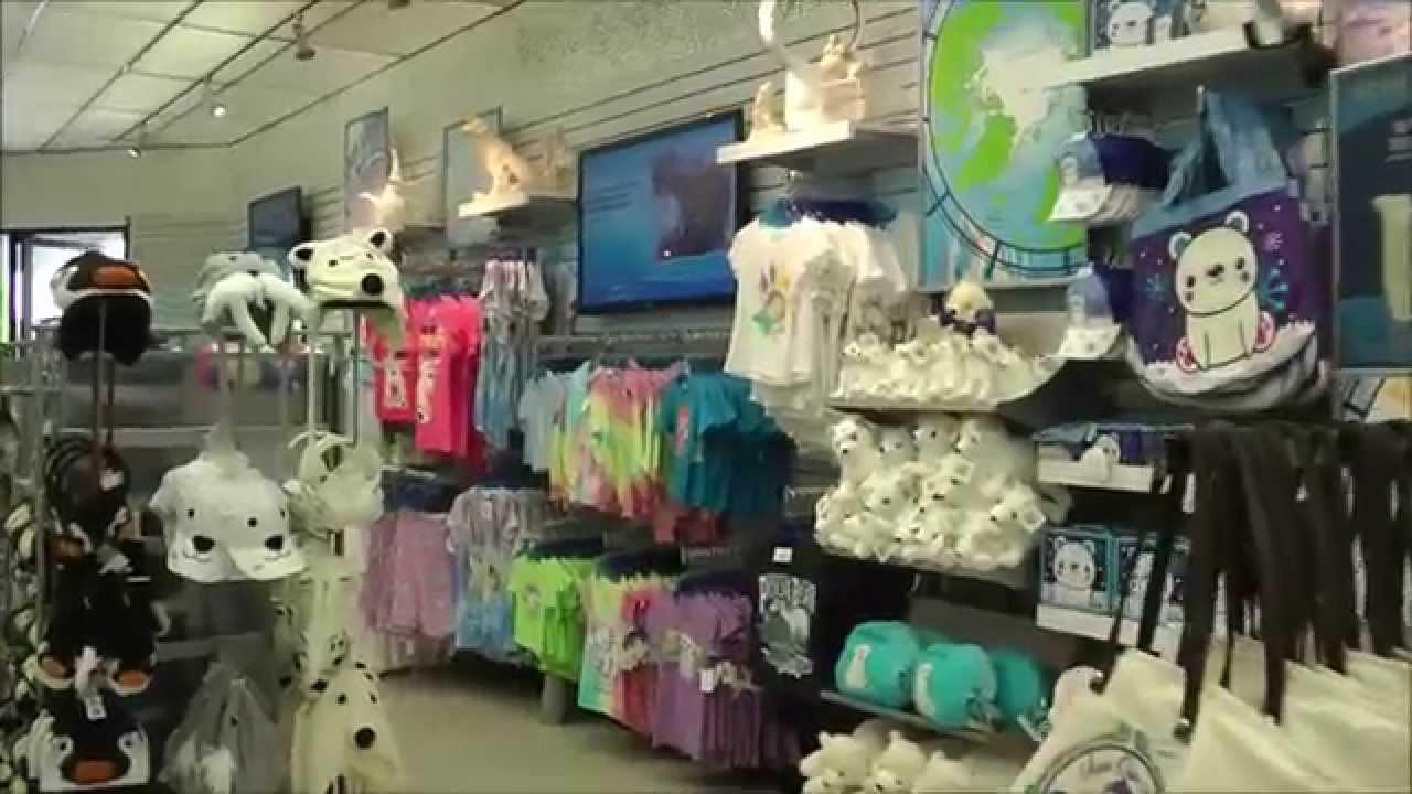 Pole to Pole Gift Shop, SeaWorld San Diego - YouTube