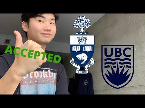 HOW I GOT INTO UNIVERSITY OF TORONTO & UBC (Grades, Extracurricular, Video Interviews)