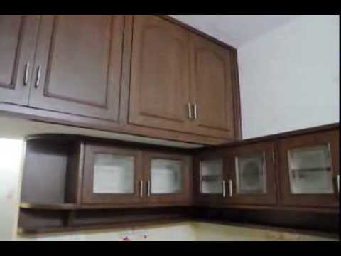 Modular Kitchen Wood Work - YouTube