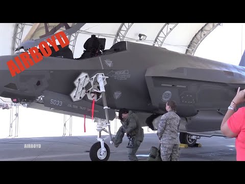 More F-35 Action At Eglin