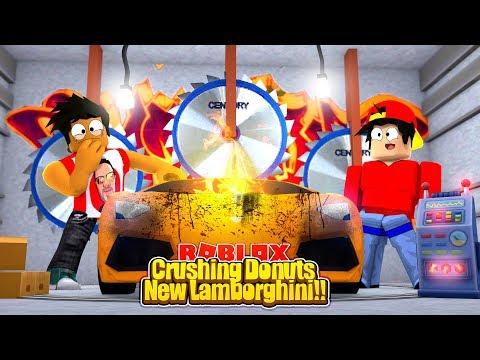 ROBLOX - CRUSHING DONUTS LAMBORGHINI!!