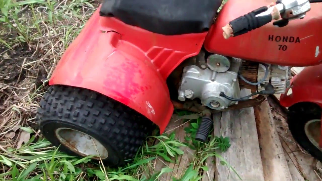 maxresdefault honda atc70 barn field find parts for sale youtube