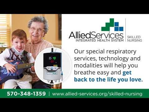 Offering the region's best post-acute respiratory care