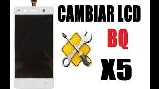 Cambiar LCD Completo BQ Aquaris X5 Muy Facil Touch Display
