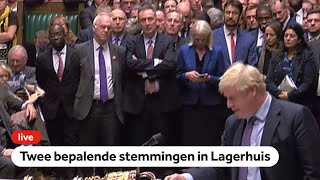 TERUGKIJKEN: Beslissende stemming Brits Lagerhuis: eens met brexit-deal, maar meer tijd nodig