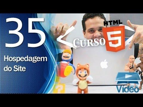 Curso de HTML5 - 35 - Como Hospedar um Site - by Gustavo Guanabara