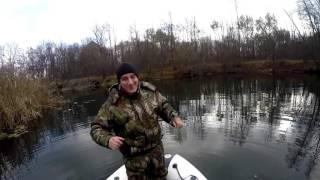 видео Спининговая ловля щуки на реке Савала