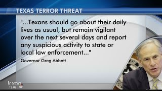 Texas listed as a possible location of terror threat on eve of Election Day