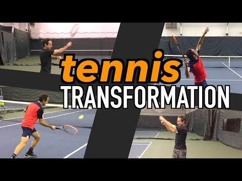 A Tennis Game TRANSFORMED: ULTIMATE Lesson | Forehand, Backhand, Volley, and Serve Technique