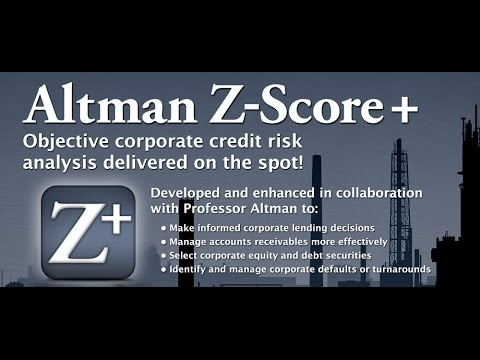 Altman Z-Score+ PRMIA Lahore Chapter Event Oct 28 2013