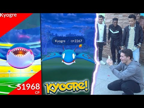 Download Youtube: I FOUND KYOGRE IN POKÉMON GO! NEW LEGENDARY IS HERE!
