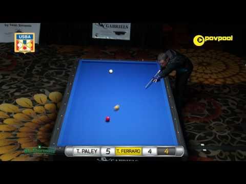 #8 • T. PALEY vs T. FERRARA - 2017 USBA 3-Cushion National Championship