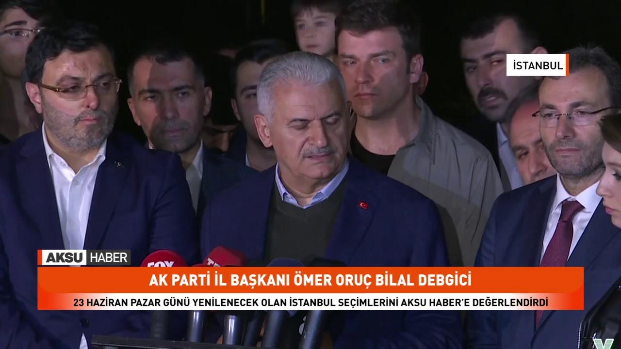 23 Haziran Pazar Günü Yenilecek Olan İstanbul Seçimlerini Aksu Haber'e Değerlendirdi