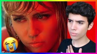 Miley Cyrus - Slide Away (Official Video) Reaction (My Heart)