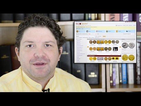 CoinWeek: Charles Morgan Describes MA-SHOPS.com - Video: 4:25