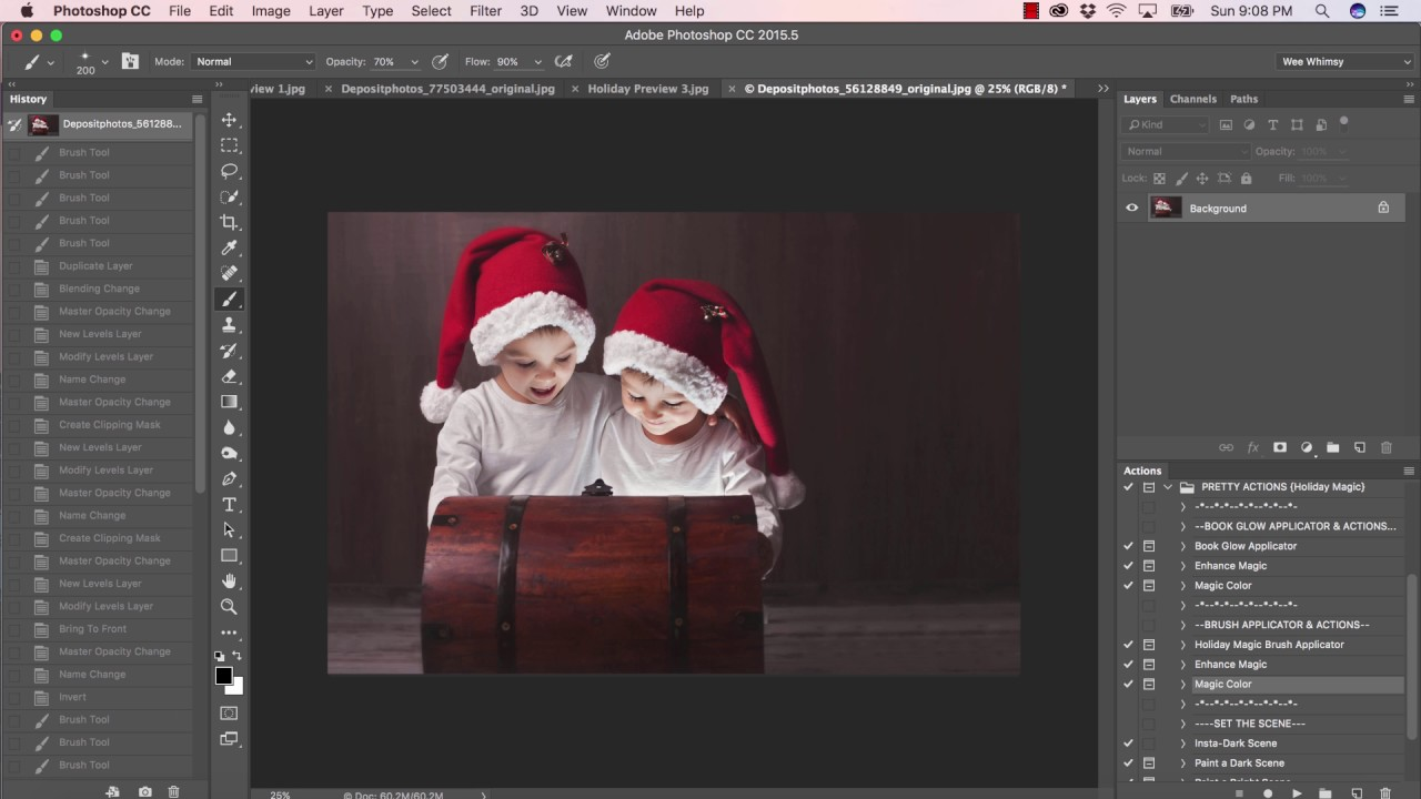 Holiday magic collection a photoshop tutorial youtube holiday magic collection a photoshop tutorial baditri Choice Image